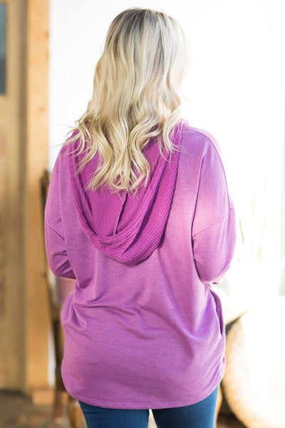 Clear Conscience Top in Magenta - Filly Flair