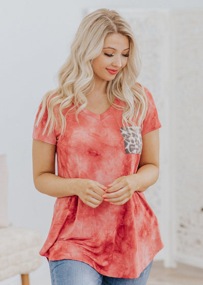Rise By Lifting Others Short Sleeve Top in Auburn - Filly Flair