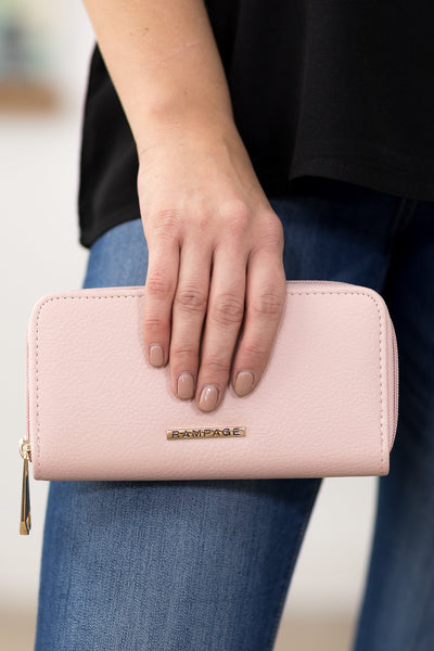 Rampage Wallet in Pink - Filly Flair