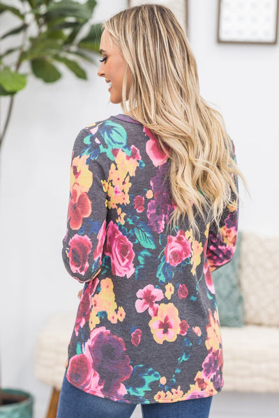 Heartfelt Floral Top - Filly Flair