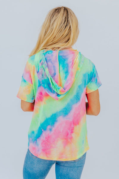 Feeling You Top In Multicolored Tie Dye - Filly Flair