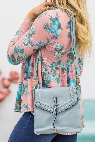 Feeling Sparks Purse in Light Blue - Filly Flair