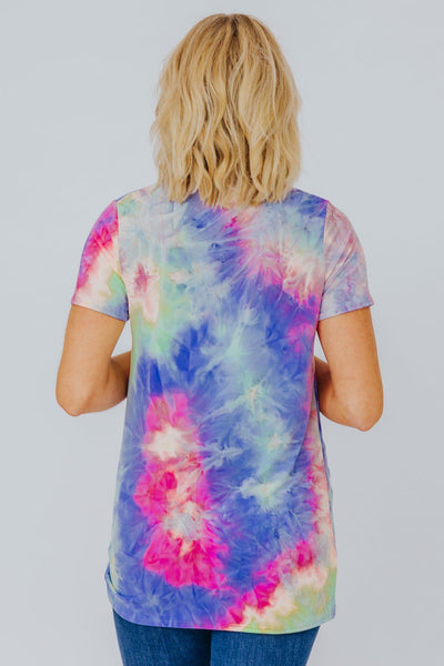 My Day Tie Dye Tee - Filly Flair