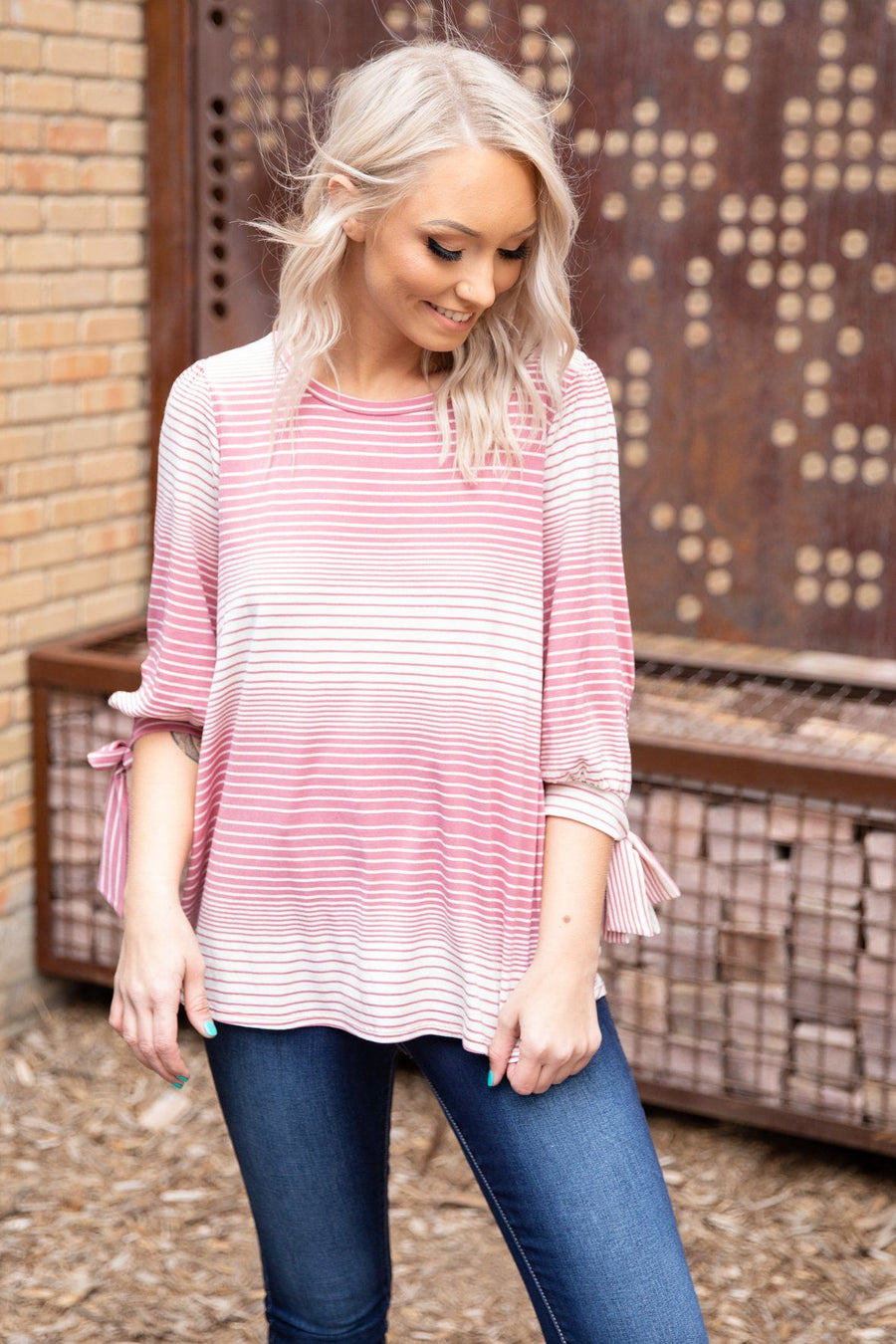 ffb0a0cee1 Cute Long Sleeve Tops | Shop 3/4 Sleeve Blouses | Filly Flair