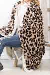 Filly Flair: Cooler Air Above Me Animal Print Blanket In Brown/Ivory - Filly Flair