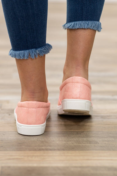 All That She Wants Slip On Shoes in Pink - Filly Flair