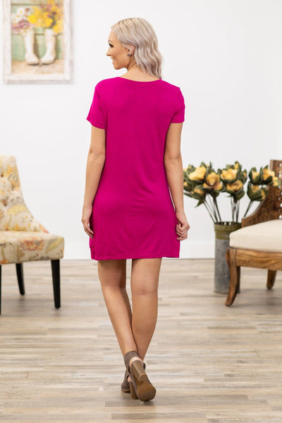 Until We Meet Again Short Sleeve Knotted Dress (Three Colors) - Filly Flair