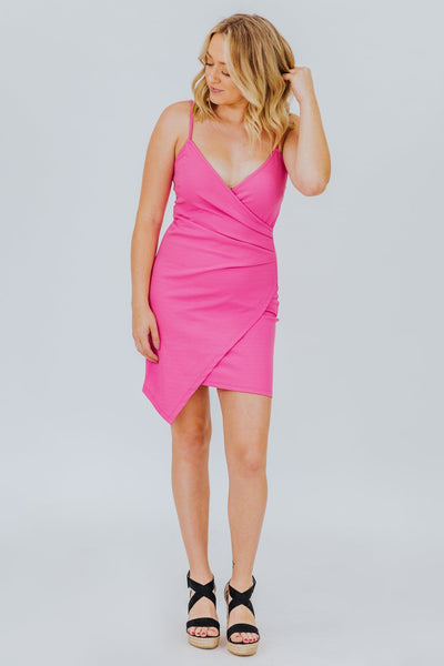 Love Me Tomorrow Dress in Pink - Filly Flair