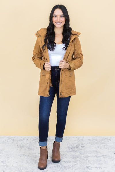 Autumn Ready Jacket in Camel - Filly Flair