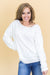 Romantic Cozy Evenings Ivory Knit Sweater
