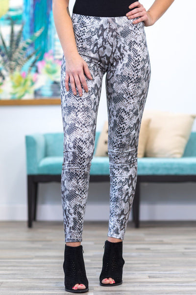 Snakeskin Dream Leggings - Filly Flair