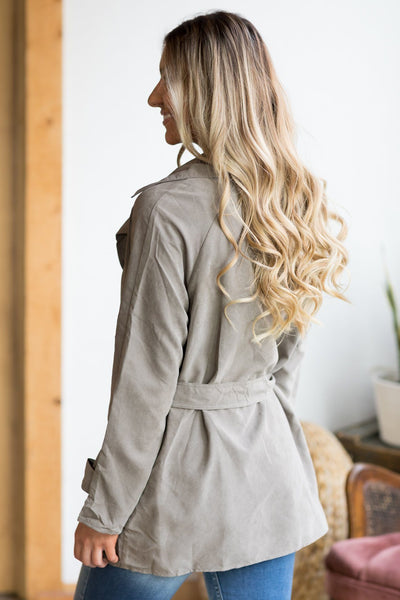 One Of The Good Ones Jacket in Mocha - Filly Flair