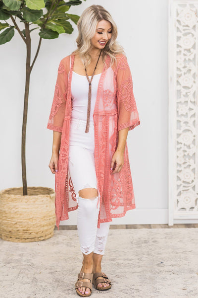 Rewrite The Stars Kimono in Dusty Rose - Filly Flair