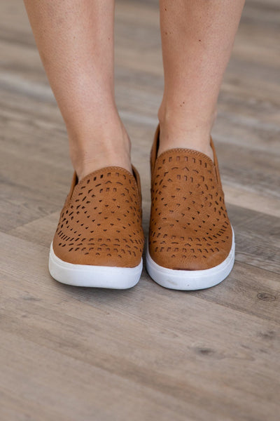 Sugar Greatness Slip on Shoe in Taupe - Filly Flair
