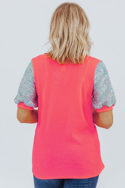 Oh My Tee In Neon Pink - Filly Flair
