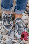 Playtime Begins Blowfish Sneaker in Natural Camo Canvas - Filly Flair