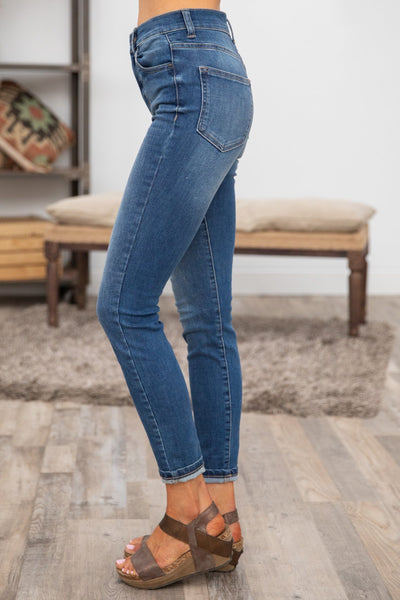 Khloe Kan Can Medium Wash Skinny Jeans - Filly Flair