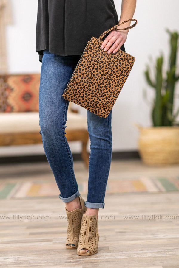 Crazy For You Leopard Faux Fur Clutch - Filly Flair