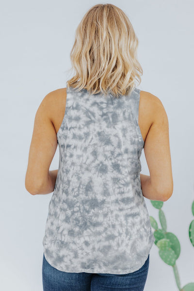 Beam Me Up Tank in Grey - Filly Flair