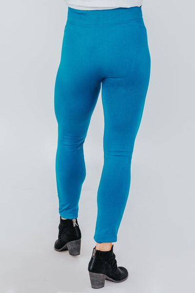 Nothing Sweeter Leggings in Teal - Filly Flair