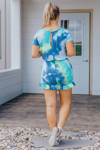Sea Urchin Multicolored Romper - Filly Flair