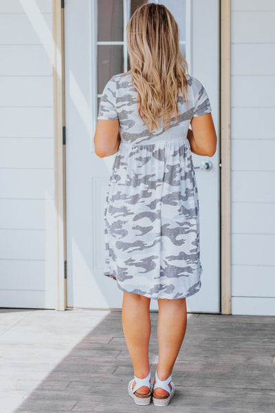 In Love Dress In Camouflage - Filly Flair