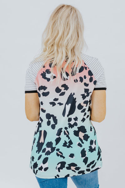 Summer Calling Leopard Top in Multicolor - Filly Flair