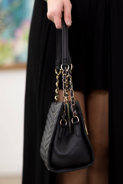 Rampage Handbag in Black - Filly Flair