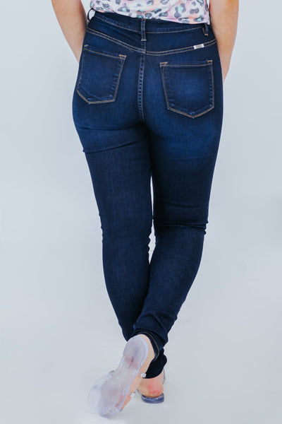 Kathie KanCan High Rise Jeans - Filly Flair