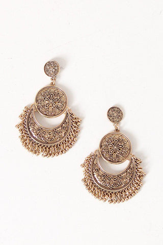 Summer Sun Earrings in Gold