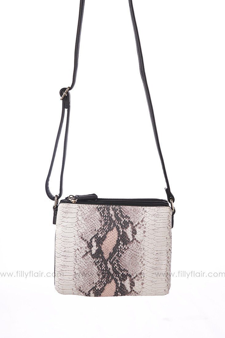Night of Your Life Python Crossbody