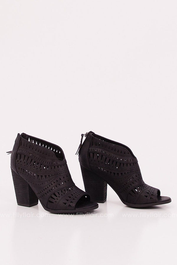 Groove Thang Bootie in Black