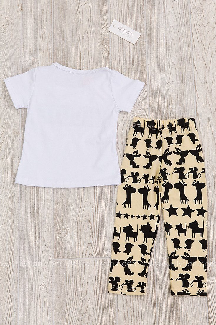 Hashtag Cute Kid's Two Piece Set