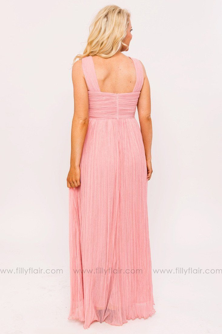 Alena Bridesmaid Dress in Dusty Rose