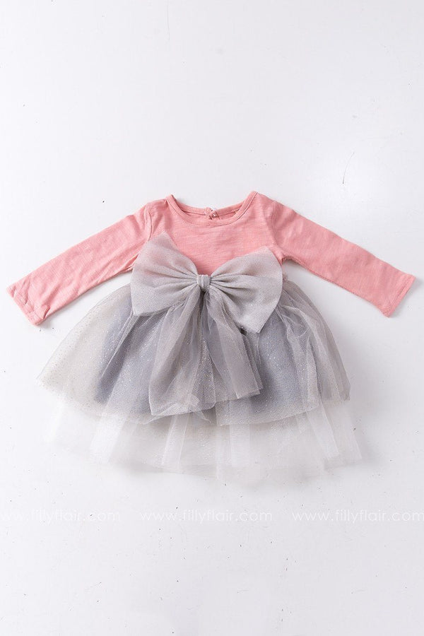 Party Time Kid's Dress with Bow