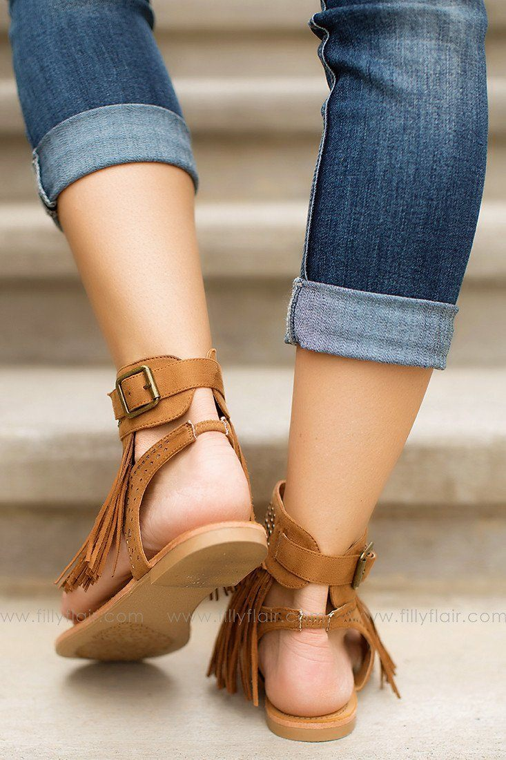 Summer Fiesta Fringe Sandals