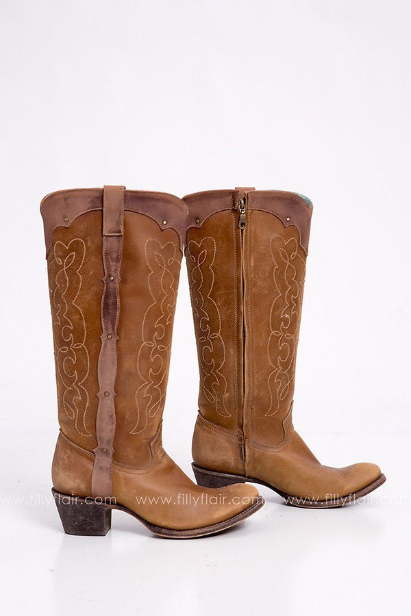 Corral Retro Vintage Westport Boot in Brown