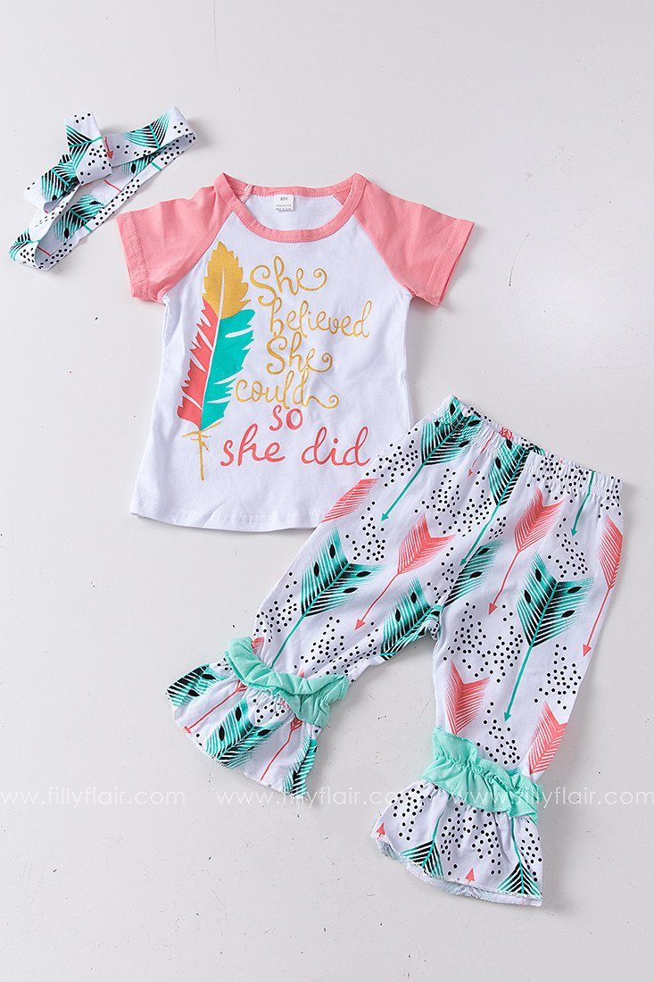 Birds of a Feather Kid's 3 Piece Set
