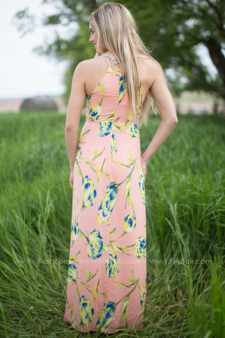 Positively Glowing Maxi Dress
