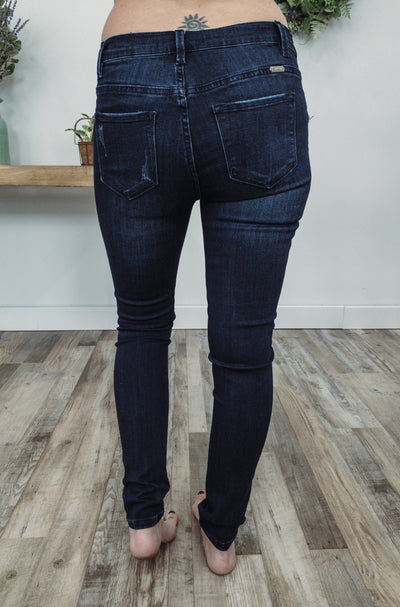 Kate Kan Can Dark Wash Maternity Jeans - Filly Flair