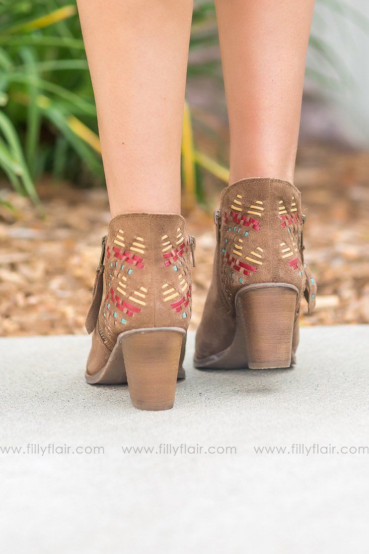 Naughty Monkey Leather Lupina Booties - Filly Flair