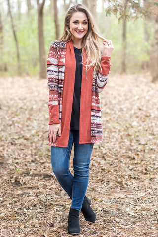 Blurred Lines Burgundy Sweater