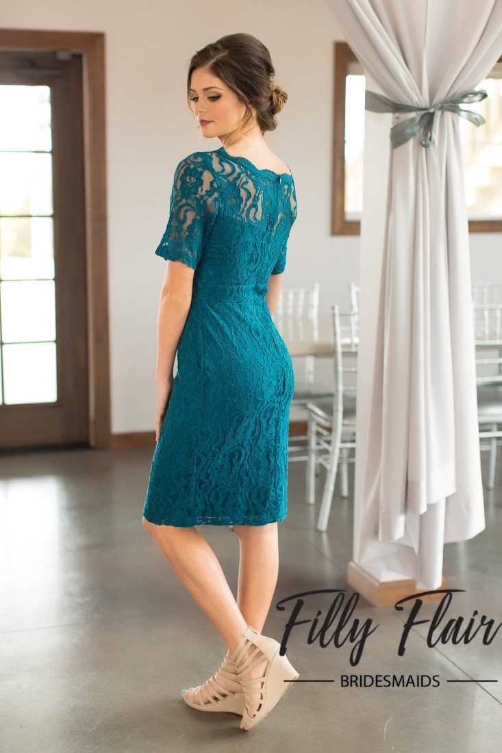 Evelyn bridesmaid dress in teal filly flair country bridesmaid dresses ombrellifo Images