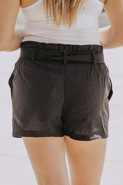 Love Your Haters Shorts in Black - Filly Flair