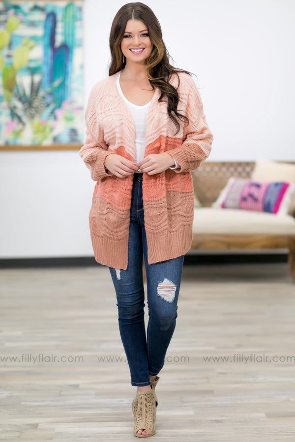 Bring It Together Color Block Cardigan - Filly Flair