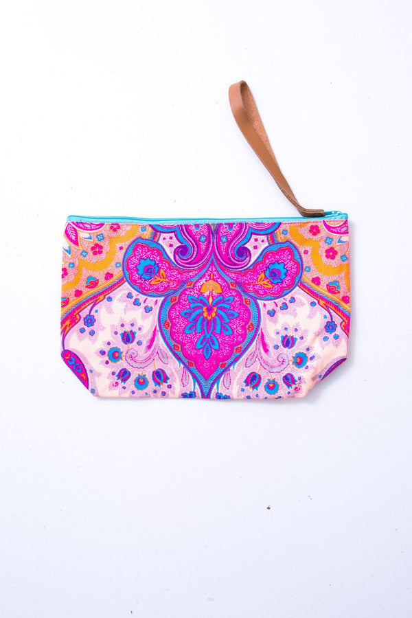 Bohemian Love Printed Bag in Pink