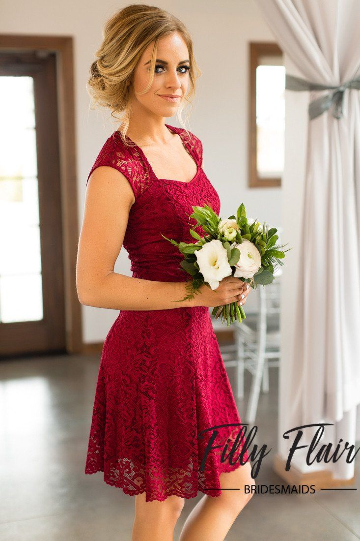 Sleeveless Bridesmaid Dress