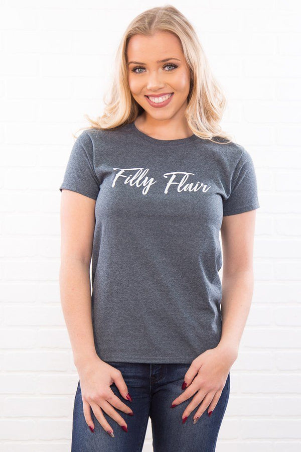 Filly Flair Logo T-Shirt - Filly Flair