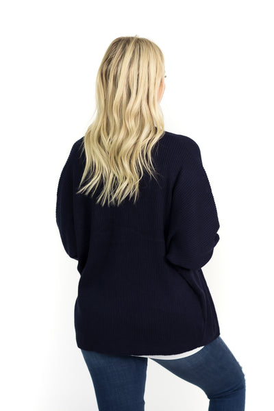 End Up With You Cardigan in Navy - Filly Flair