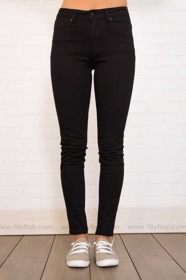 Karen Kan Can Black High Rise Skinny Jeans
